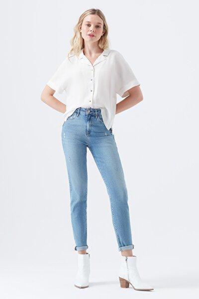 Kadın Cindy Vintage 90s Jean Pantolon 100277-29181