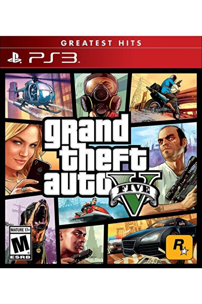 Grand Theft Auto 5 Ps3 Oyun
