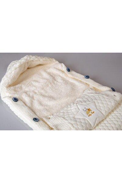 Poky Kız Erkek Bebek Yıldız Kabartmalı Triko Soft Kundak Battaniye-203053