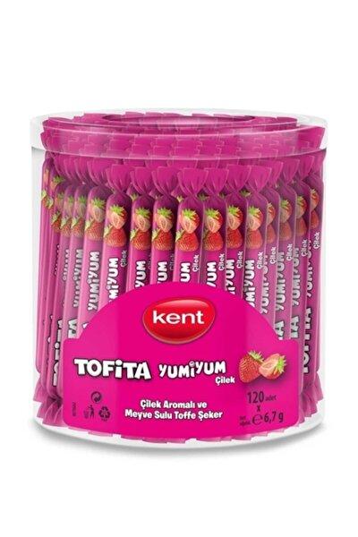 Kent Yumiyum Yumuşak Şeker Çilek 6,7gr 120 Adet