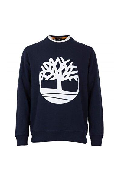 YC CORE TREE LOGO CREW NE Lacivert Erkek Sweatshirt 101096678