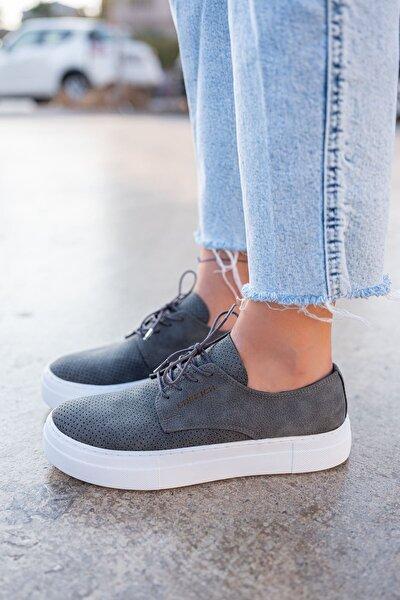 Ch061 Bt Kadın Ayakkabı Antrasit