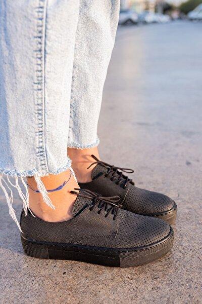 Ch061 St Kadın Ayakkabı Sıyah