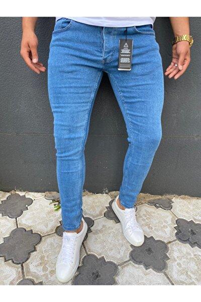 Erkek Mavi Kot Pantolon