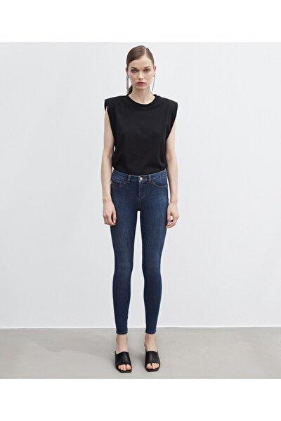 Kadın Mavi 360 Jean Pantolon