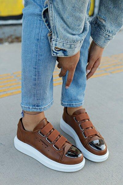 Ch251 Bt Kadın Ayakkabı Taba