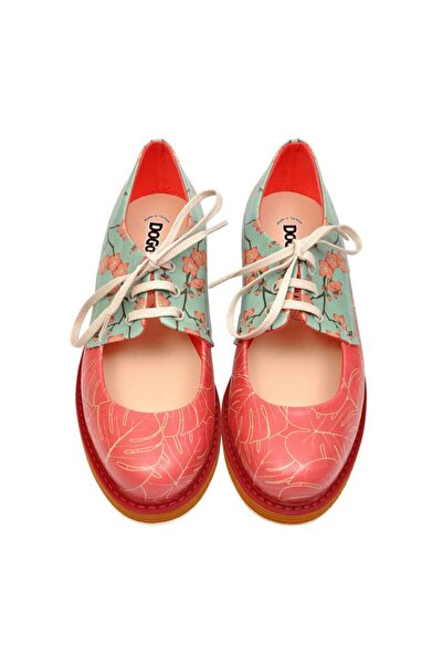 Elegance / Tasarım Baskılı Vegan / Pency Kadin Ayakkabi