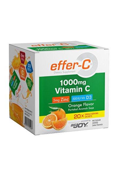 Effer-C-Vitamin C Orange 20 Sachets
