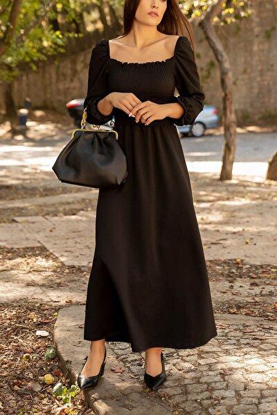 Kadın Siyah Elbise