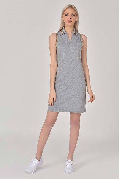 Gri Kadın Elbise GS-8079