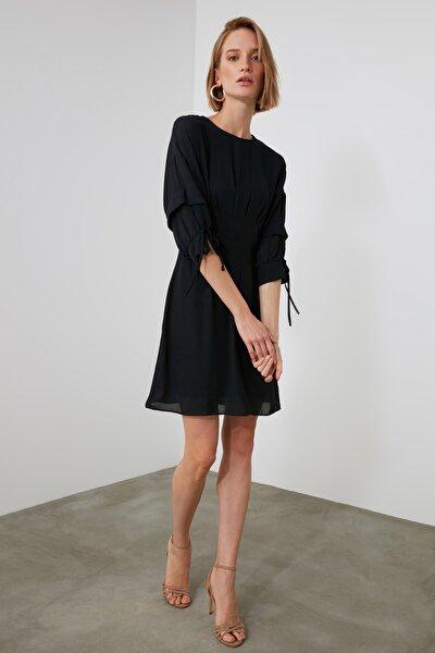 Lacivert Kol Detaylı Elbise TWOAW21EL2178