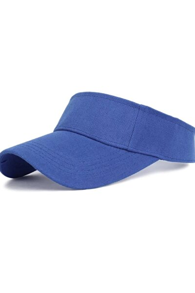 Kaliteli Düz Renk Pamuklu Tenis Şapka ( Vizör Kep )