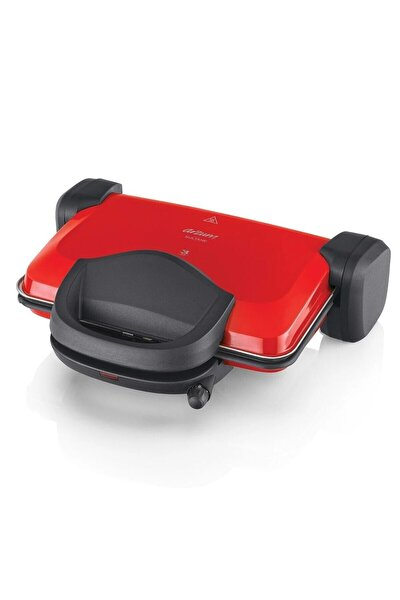 AR2007 Sultane 1800 Watt Izgara ve Tost Makinesi Kırmızı