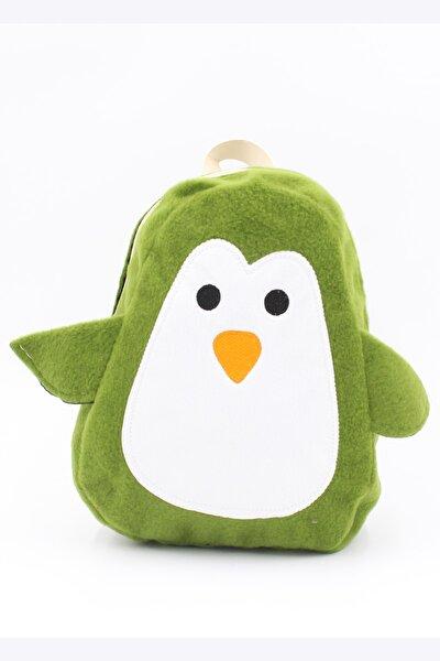Çocuk Yeşil Penguen Sırt Çantası 039 901