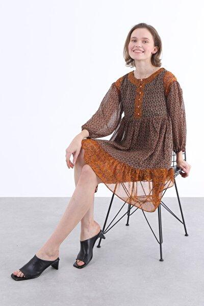 Kadın Şifon Elbise 210312