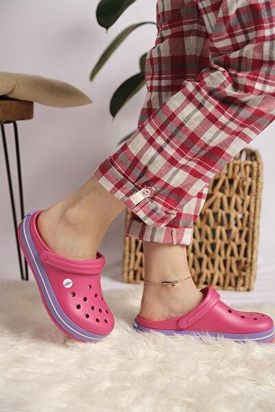 Unisex Pembe Sandalet