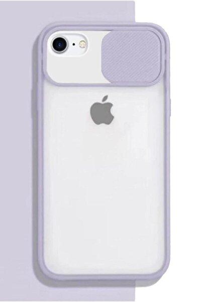 Apple Iphone 6 Plus 6s Plus Kılıf Sürgülü Kamera Korumalı Silikon Plus Modelleri Için