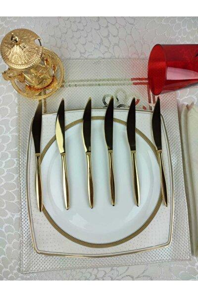 Andromeda Gold Tatlı Bıçağı 6 Adet