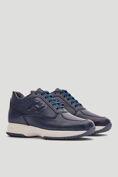 Erkek Deri Sneaker Ayakkabı