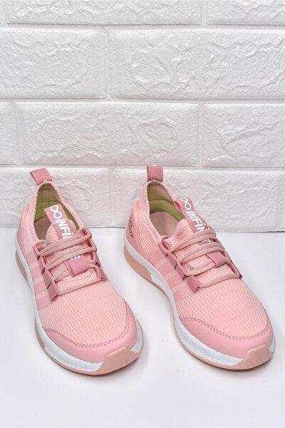 -pudra (pembe) - Infinite Baskılı Çocuk Günlük -sneaker, Yürüyüş Ayakkabı