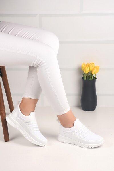 Kadın Beyaz Aqua Sneaker Ba21050