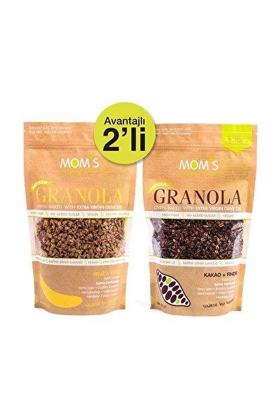 2'li Granola - Muz Ceviz 360 gr - Kakao Fındık 360 gr