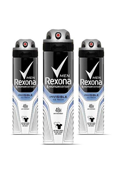 Erkek Deodorant Sprey Invisible Ice Fresh 150 ml X 3 Adet