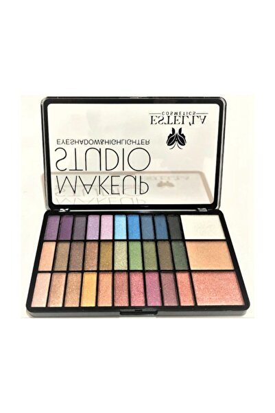 Make Up Studıo 30 Lu Far+3lü Highligter Palet