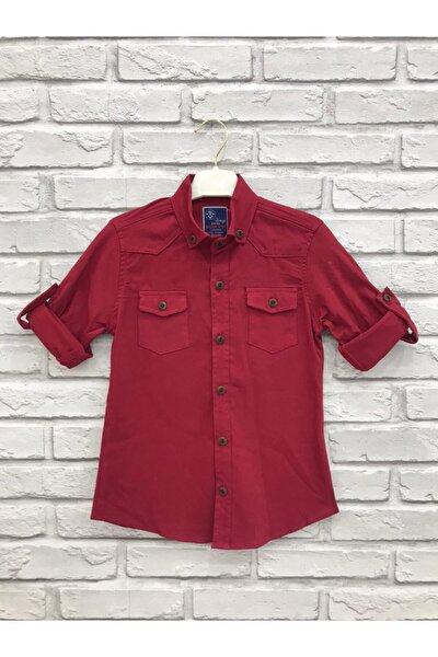Erkek Çocuk Kırmızı Gömlek 1140