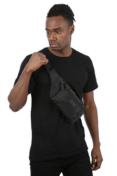 Siyah Cepli Bel Çantası/bodybag(YAN ASILARAK KULLANIMA UYGUN)