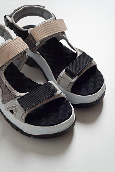 Kadın Buz Sıyah Multı Sandalet 4740