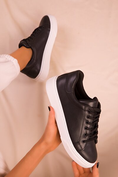 Siyah Kadın Sneaker 14395