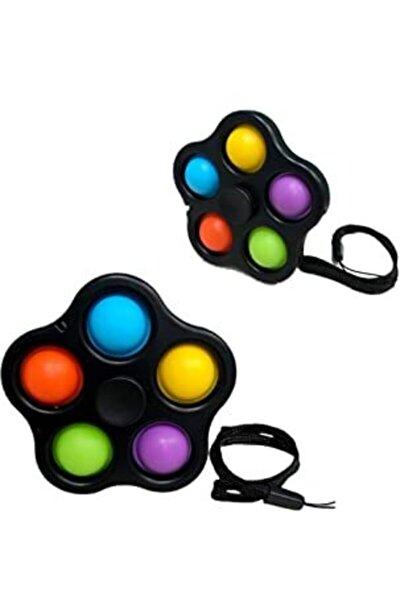Pop-it Stres Çarkı, Duyusal Stres Çarkı, Renkli Pop-it Stres Çarkı, Fidget Duyusal Oyuncaklar