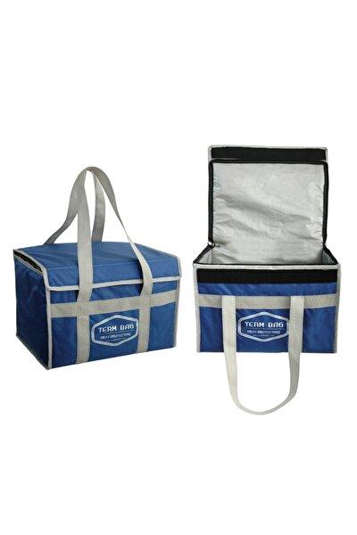 Profesyonel Termal Çanta Isı Yalıtımlı Kamp Piknik Termo Çanta 36 lt Mavi