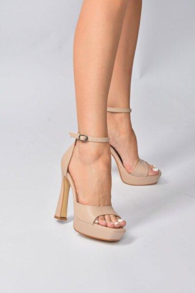 Ten Kadın Topuklu Ayakkabı K404580109