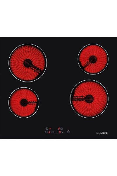 Vitroseramik Elektrikli Siyah Cam Ankastre Ocak