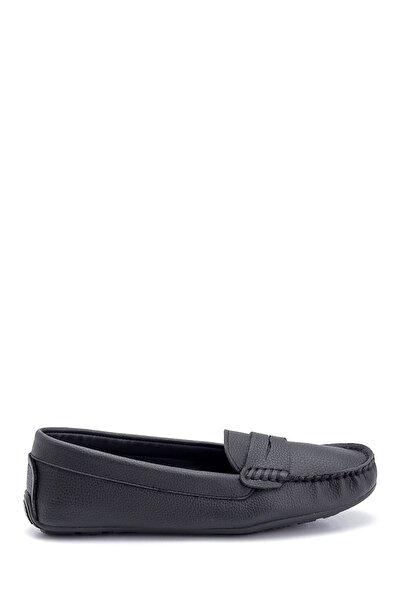 Kadın Siyah Casual Loafer Ayakkabı