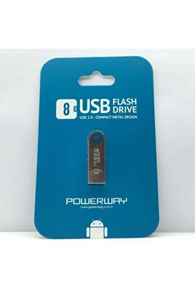 8 Gb Usb Flash Bellekw