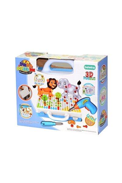 3d Matkaplı Creative Puzzle 11b Mozaik Puzzle Çantalı Eğitici 239 Parça