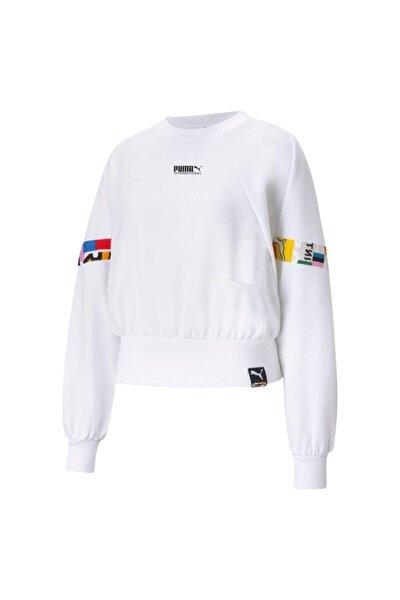 Kadın Beyaz Sweatshirt 53104502