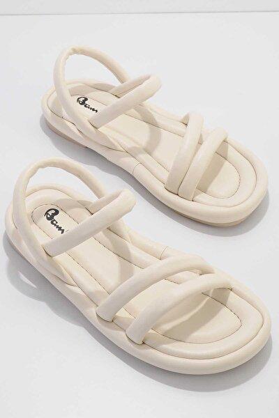 Bej Kadın Sandalet K05954010009
