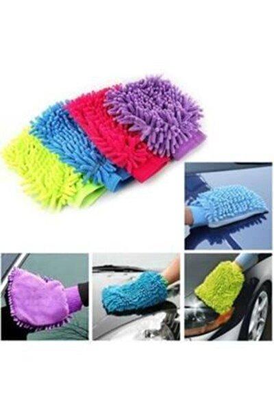Mikrofiber Araba Yıkama Ve Temizlik Eldiveni