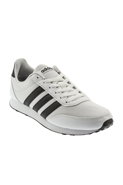 V Racer 2.0 Beyaz Siyah Erkek Koşu Ayakkabısı 100351851