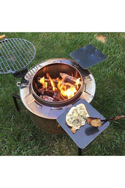 Dış Mekan Bahçe Şöminesi Barbüke Mangal Ateş Çukuru Soba