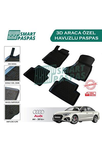 Audi A4 2016 Ve Sonrası 3d Havuzlu Paspas