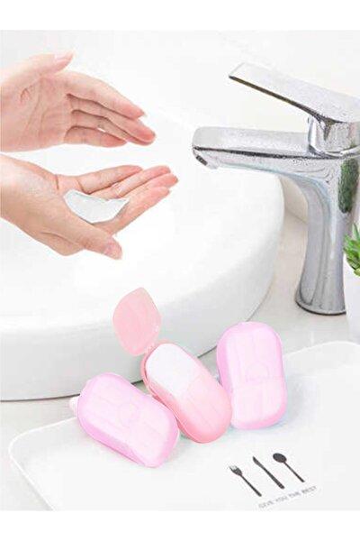 Kağıt Sabun 3'lü Paket Parfümlü 60 El Yıkama