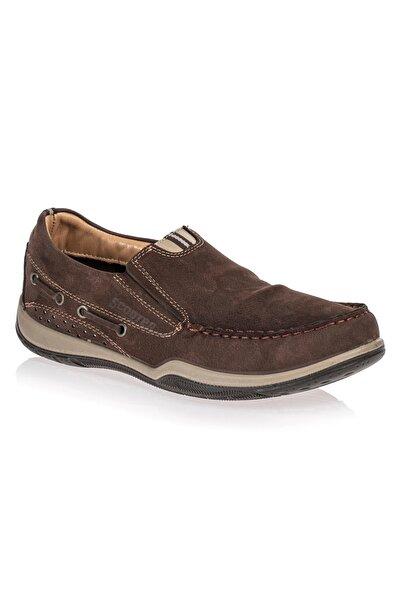 Deri Kahve Erkek Ayakkabı M2021NKA