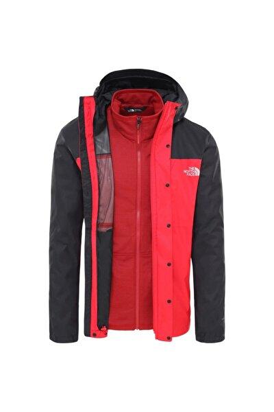 Quest Triclimate Erkek Kırmızı Outdoor Mont (NF0A3YFHKZ31)