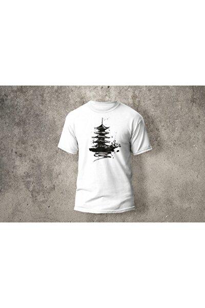 Baskılı Japantemple T-shirt