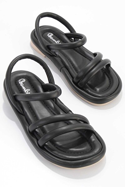 Siyah Kadın Sandalet K05954010009